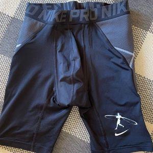 Nike Pro slider shorts